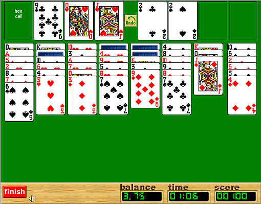 Play FreeCell online