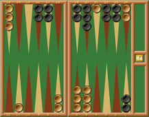 play online backgammon, playbackgammon