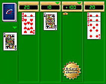 play online rush-21 solitaire